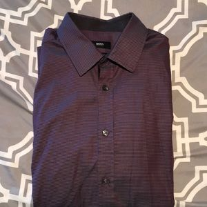 Hugo Boss men's dress shirt. Size large